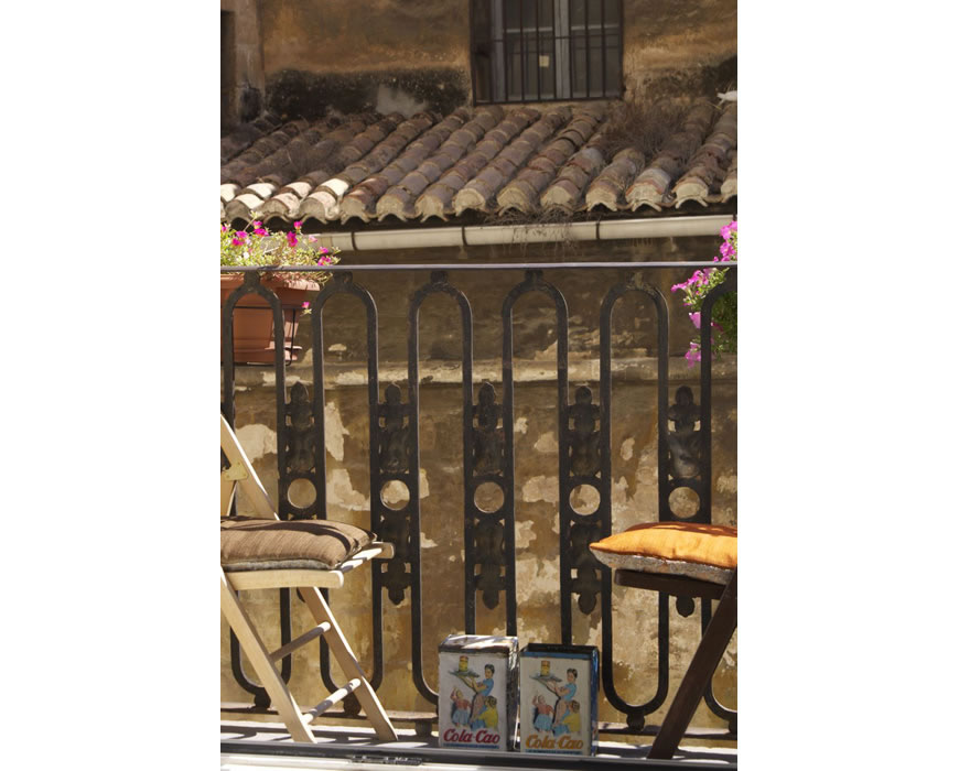 Sunny balcony with extended Bed And Breakfast Butler Service (™) .