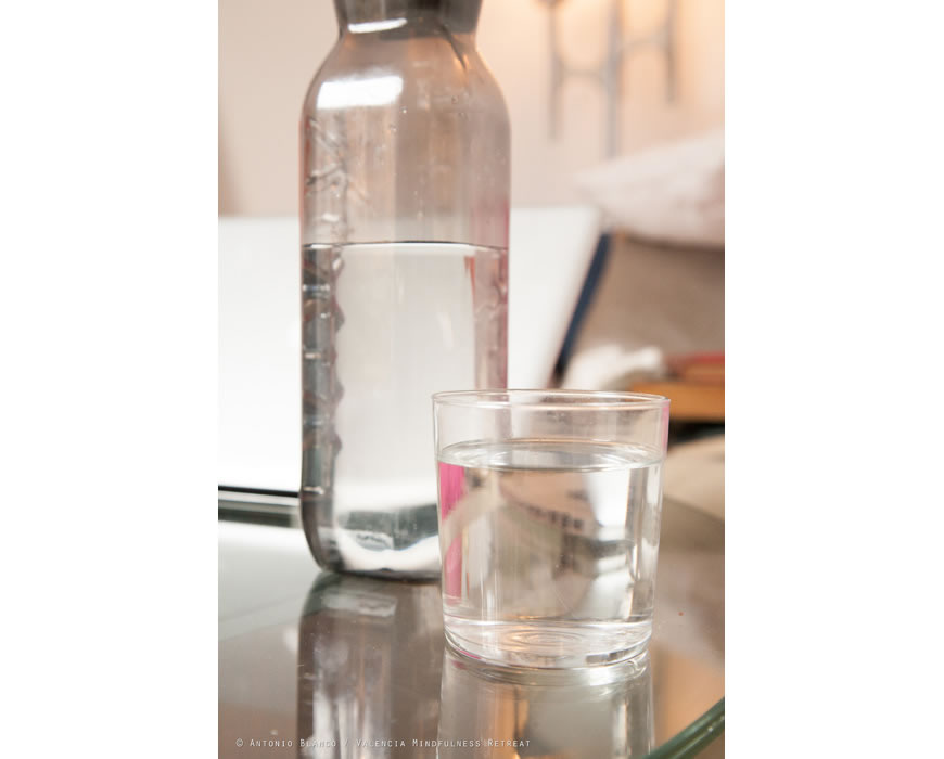 Complimentary bottled spring water in every room on your citytrip.