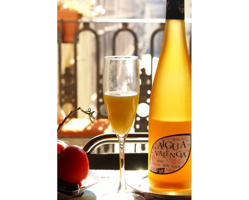 Aqua de Valencia is a local drink and great to be enjoyed with central view.