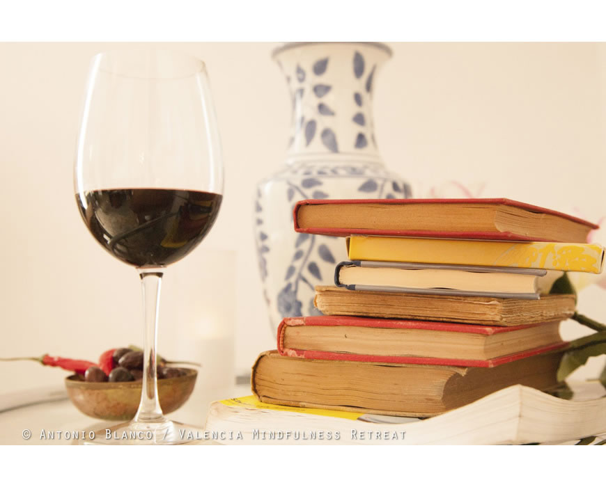Relax with a good glass of local wine, your romantic charming Bed and Breakfast.